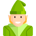 user, Character, Gnome, Avatar, people, legend, Fantasy, Folklore, Fairy Tale YellowGreen icon