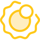 planet, science, sun, education, Astronomy, solar system Gold icon