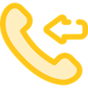 phone call, Incoming Call, telephone, technology, phone receiver, Communication, Communications Gold icon