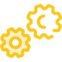 ui, cogwheel, Tools And Utensils, Gear, settings, configuration Icon