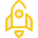 Rocket, transportation, transport, Space Ship, Rocket Ship, Space Ship Launch, Rocket Launch Black icon