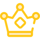 miscellaneous, king, crown, Queen, Royalty, Chess Piece Icon