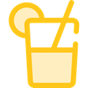 Lemonade, beverage, Summertime, Refreshment, Food And Restaurant, drink, food, sugar Gold icon