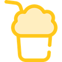 food, glass, Cold, frappe, Coffee Shop, Food And Restaurant Black icon
