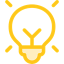 invention, electricity, illumination, technology, Light bulb, Idea, miscellaneous Icon