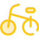 cycling, exercise, sport, transportation, transport, vehicle, sports, Bike, Bicycle Gold icon