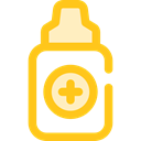 medical, Eye, drop, medicine, Droplet, drops, Medication, Eye Drops, Healthcare And Medical Gold icon