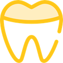 tooth, Health Care, Healthcare And Medical, Dentist, medical, Teeth Gold icon