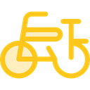 transport, vehicle, sports, Bike, Bicycle, cycling, exercise, sport, transportation Gold icon