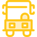 Delivery Truck, Cargo Truck, truck, transport, vehicle, Automobile, Delivery, transportation Gold icon