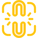 Connection, Link, interface, Chain, linked, Tools And Utensils, Edit Tools, Broken Link Gold icon