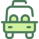 transportation, transport, vehicle, taxi, Car, Automobile DimGray icon