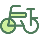 Bicycle, cycling, exercise, sport, transportation, transport, vehicle, sports, Bike DimGray icon