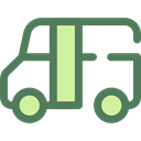 Public transport, transport, vehicle, Bus, Automobile, transportation DimGray icon