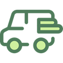 Car, transportation, transport, vehicle, van, Automobile DimGray icon