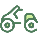 transportation, transport, Motorbike, Motorcycle, Scooter DimGray icon