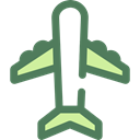 Plane, transport, flight, Aeroplane, Airport, transportation, airplane Black icon