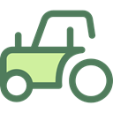 transport, vehicle, tractor, Farm, Automobile, engine, transportation DimGray icon