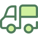 Automobile, Delivery Truck, Cargo Truck, Delivery, transportation, truck, transport, vehicle DimGray icon