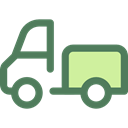 Shipping And Delivery, vehicle, Automobile, Delivery Truck, Cargo Truck, Delivery, transportation, truck, transport DimGray icon