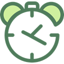 Clock, time, timer, alarm clock, Tools And Utensils, Time And Date DimGray icon