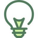 invention, illumination, technology, electronics, Light bulb, Idea, electricity Black icon