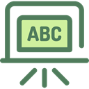 school, Class, Eraser, education, Blackboard DimGray icon