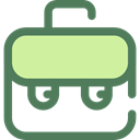 travel, portfolio, Business, Briefcase, Bag, suitcase DimGray icon
