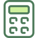 tool, buttons, finances, Business And Finance, calculator, Business, education, calculate DimGray icon