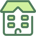 school, education, buildings, college, High School, Architecture And City DimGray icon