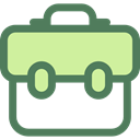 travel, portfolio, Briefcase, Bag, suitcase, Business DimGray icon