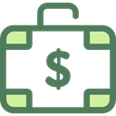Business, Briefcase, Bag, suitcase, portfolio, Business And Finance DimGray icon