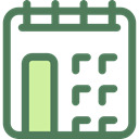 date, Schedule, interface, Calendar, time, Administration, Organization, Calendars, Time And Date DimGray icon