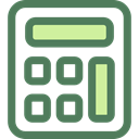 calculate, buttons, finances, Business And Finance, tool, calculator, Business DimGray icon