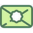 Email, envelope, interface, mails, envelopes, Multimedia, Message, mail, Communications Icon