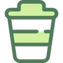Food And Restaurant, Coffee, food, coffee cup, hot drink, Coffee Shop, Take Away, Paper Cup DimGray icon