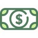 Currency, Business And Finance, Business, Money, Cash, Dollar, Notes DimGray icon