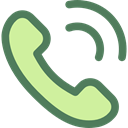 phone, Call, telephone, technology, Conversation, Communications, phone call, Telephone Call DimGray icon