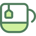 Coffee, tea, food, Chocolate, mug, coffee cup, hot drink, Tea Cup, Food And Restaurant DimGray icon