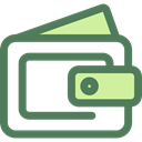 wallet, Money, Cash, pay, purse, fashion, Business And Finance DimGray icon