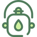 flask, water, Bottle, thirst, canteen, Tools And Utensils, Food And Restaurant DimGray icon