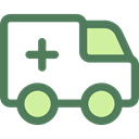 transport, vehicle, Ambulance, emergency, Automobile, Healthcare And Medical, medical, transportation DimGray icon