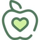 Healthy Food, Food And Restaurant, Apple, food, Fruit, organic, diet, vegetarian, vegan DimGray icon