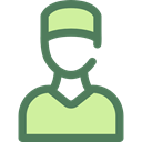 people, Health Care, job, Surgeon, profession, Occupation, user, doctor, medical, Avatar DimGray icon