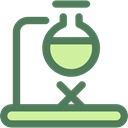 flask, chemical, Test Tube, Flasks, Healthcare And Medical, science, Burner, education, Chemistry DimGray icon