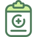 documents, medical, notepad, files, hospital, Medical Result, Healthcare And Medical DimGray icon