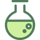 science, education, Chemistry, flask, laboratory, Tools And Utensils, Healthcare And Medical DimGray icon