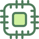 electronics, Chip, processor, Cpu, technology, electronic DimGray icon