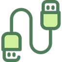 Usb Cable, Usb, Cable, Connection, technology, port, electronics DimGray icon
