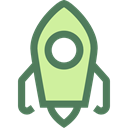 Rocket, education, transport, Space Ship, Rocket Ship, Space Ship Launch, Rocket Launch DimGray icon